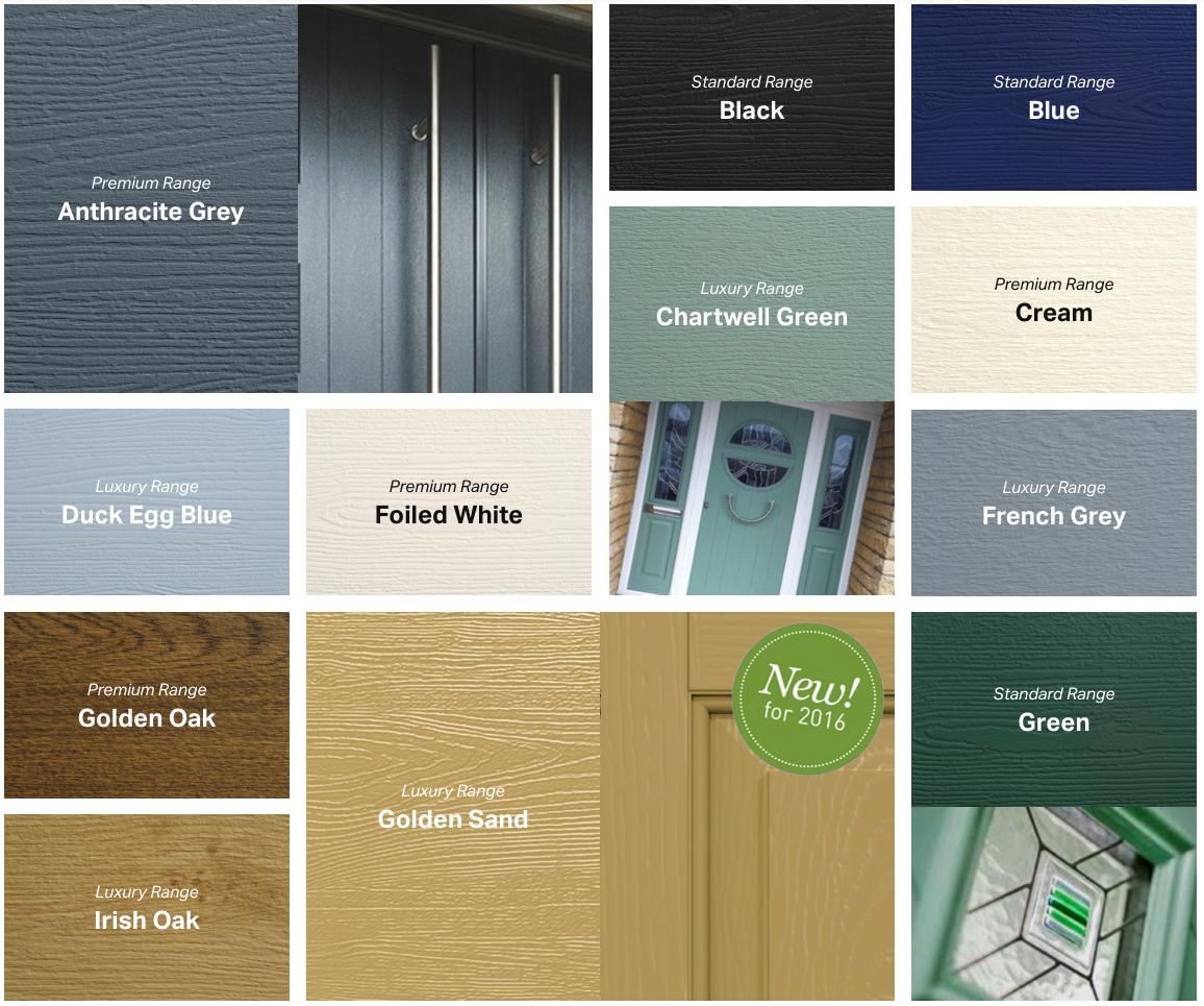 Composite Door Colours : S style composite doors door prices