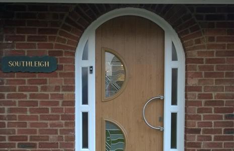 Arched Composite Doors