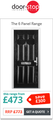 Door Stop Doors 6 Panel Composite Door Range