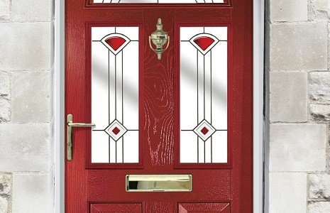 Solidor Conway Composite Door, Style from the victorian era