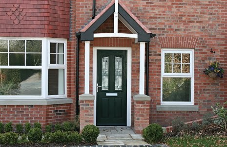This door is a popular throwback to the Victorian era