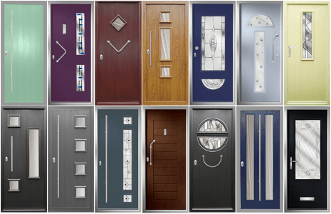 19 exclusive door designs to choose from. modern sandblasted satin glass really compliments this collection.