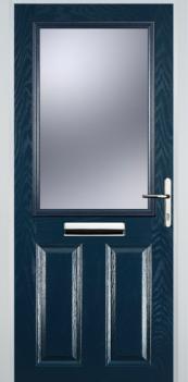 FD30s 2 Panel 1 Square Composite Fire Door