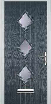 FD30s 3 Diamond Composite Fire Door