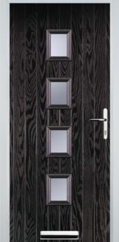 FD30s 4 Square Composite Fire Door