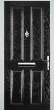 FD30s 4 Panel Composite Fire Door