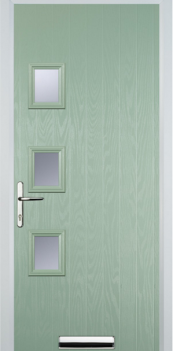 FD30s 3 Square left Composite Fire Door