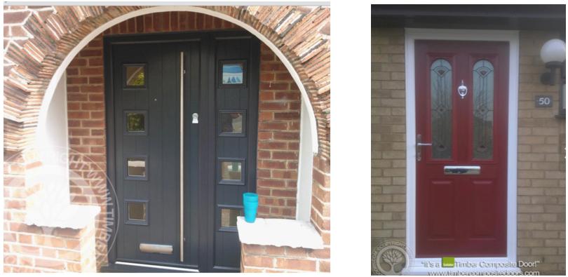 Installed Composite Doors