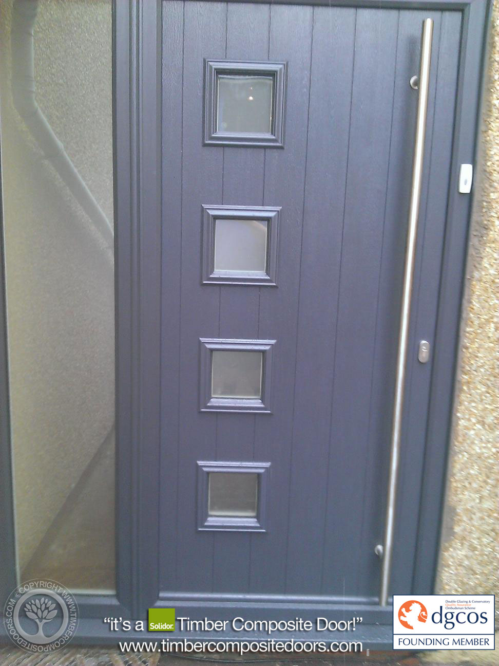 Anthracite-Grey-Milano-Solidor-Timber-Composite-Door2 & Anthracite-Grey-Milano-Solidor-Timber-Composite-Door2 | Composite ... pezcame.com