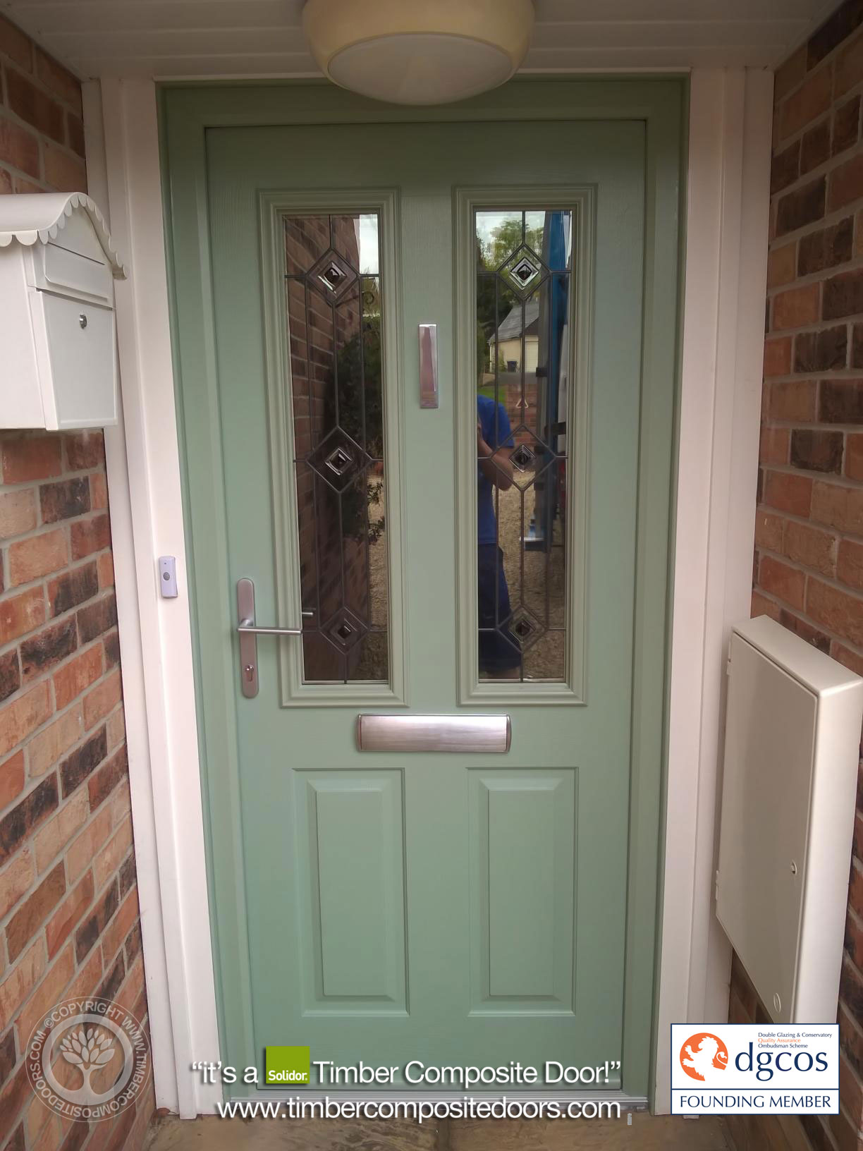 Chartwell Green Ludlow Solidor Timber Composite Door4
