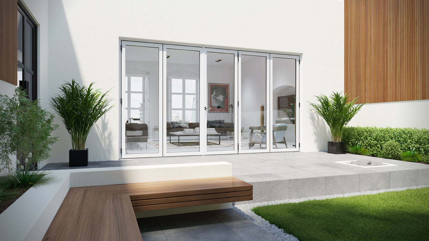 WarmCore Bi Folding Doors Composite Door Prices