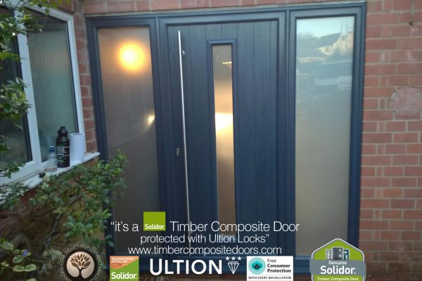 Anthracite Grey Amalfi with Side Panels