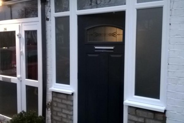 Anthracite Grey London with Flag Windows and Etched Top Box
