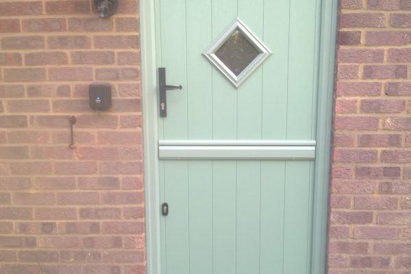 Chartwell Green Flint 1 Stable Door