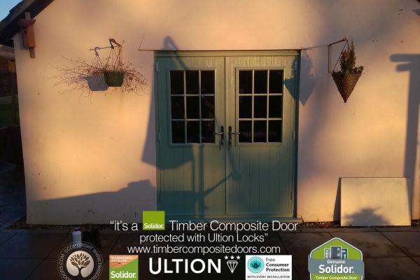 Chartwell Green Flint Beeston GB French Doors