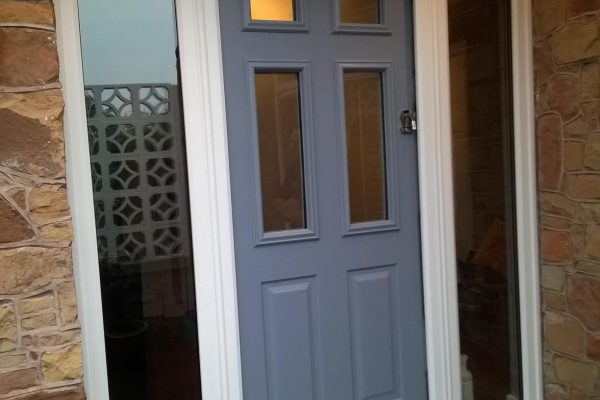 French Grey Tenby 4 with Side Panels
