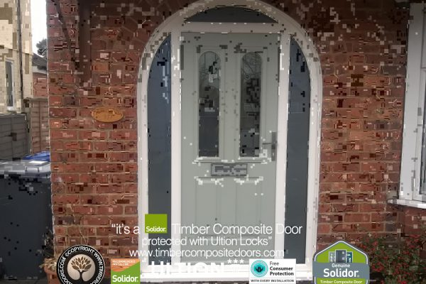 Painswick Ludlow 2 Arched Door