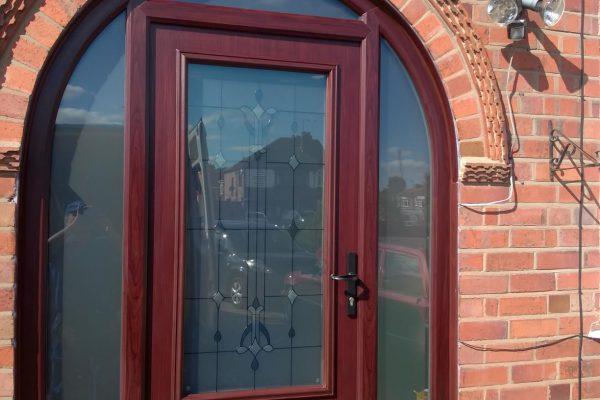 Rosewood Alnwick Arched Door