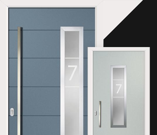 Virtu-AL is the ultimate contemporary entrance door