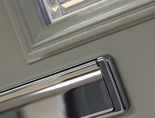 Virtuoso doors are uniquely designed to look as close to the raw material as possible