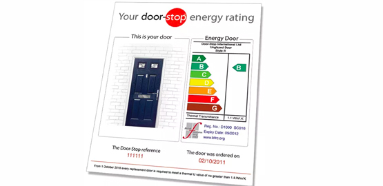 Energy rating certificates