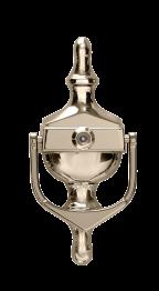 Fab-n-Fix gold knocker spyhole