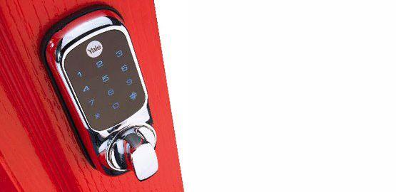 Yale Digital Rim Lock