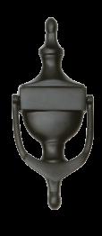 black urn knocker