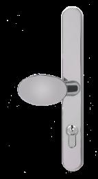chrome lever pad